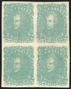 Sale Number 1129, Lot Number 524, Confederate States: General Issues2c Green (3), 2c Green (3)