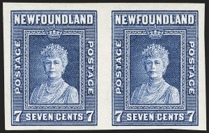 Sale Number 1130, Lot Number 1163, Canadian Provinces - NewfoundlandNEWFOUNDLAND, 1938, 2c-7c Royal Family, Imperforate (245a-248a; SG 268b-271b), NEWFOUNDLAND, 1938, 2c-7c Royal Family, Imperforate (245a-248a; SG 268b-271b)