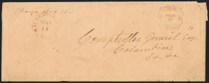 Sale Number 1132, Lot Number 3222, Postmasters Provisionals: Tellico Plains Tenn. thru Winnsborough S.C.Walterborough S.C., 10c Carmine entire (108XU2), Walterborough S.C., 10c Carmine entire (108XU2)
