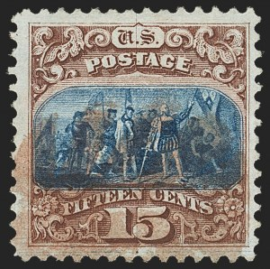 Sale Number 1133, Lot Number 217, 15c 1869 Pictorial Issue, off-Cover (Scott 118-119b)15c Brown & Blue, Ty. I (118), 15c Brown & Blue, Ty. I (118)
