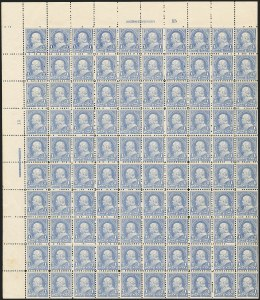 Sale Number 1133, Lot Number 387, 1894-98 Bureau Issues (Scott 246-284)1c Ultramarine (246), 1c Ultramarine (246)