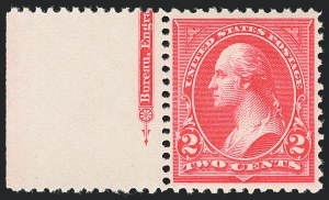 Sale Number 1133, Lot Number 389, 1894-98 Bureau Issues (Scott 246-284)2c Scarlet, Ty. II (251a), 2c Scarlet, Ty. II (251a)