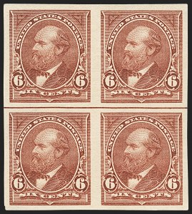Sale Number 1133, Lot Number 393, 1894-98 Bureau Issues (Scott 246-284)6c Dull Brown, Imperforate (271b), 6c Dull Brown, Imperforate (271b)