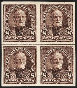 Sale Number 1133, Lot Number 394, 1894-98 Bureau Issues (Scott 246-284)8c Violet Brown, Imperforate (272b), 8c Violet Brown, Imperforate (272b)