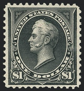Sale Number 1133, Lot Number 395, 1894-98 Bureau Issues (Scott 246-284)$1.00 Black, Ty. I (276), $1.00 Black, Ty. I (276)