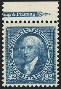 Sale Number 1133, Lot Number 396, 1894-98 Bureau Issues (Scott 246-284)$2.00 Bright Blue (277), $2.00 Bright Blue (277)