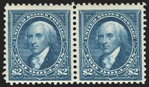 Sale Number 1133, Lot Number 397, 1894-98 Bureau Issues (Scott 246-284)$2.00 Bright Blue (277), $2.00 Bright Blue (277)