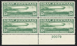 Sale Number 1133, Lot Number 487, Air Post, Offices in China65c-$2.60 Graf Zeppelin (C13-C15), 65c-$2.60 Graf Zeppelin (C13-C15)