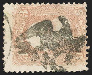Sale Number 1133, Lot Number 94, 1861-66 Issue (Scott 56-78)3c Rose (65), 3c Rose (65)