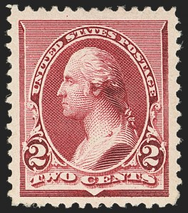 Sale Number 1134, Lot Number 174, 1890-93 Issue (Scott 219-229)2c Lake (219D), 2c Lake (219D)