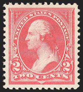 Sale Number 1134, Lot Number 200, 1894 Unwatermarked Bureau Issue (Scott 246-263)2c Pink, Ty. I (248), 2c Pink, Ty. I (248)