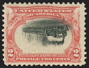 Sale Number 1134, Lot Number 248, 1901 Pan-American Issue, including Inverts (Scott 294-299)2c Pan-American, Center Inverted (295a), 2c Pan-American, Center Inverted (295a)