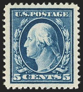 Sale Number 1134, Lot Number 311, 1908-12 Issues (Scott 367-396)5c Blue (378), 5c Blue (378)