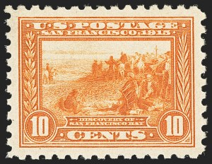 Sale Number 1134, Lot Number 340, 1913-15 Panama-Pacific Issue (Scott 397-404)10c Panama-Pacific, Perf 10 (404), 10c Panama-Pacific, Perf 10 (404)
