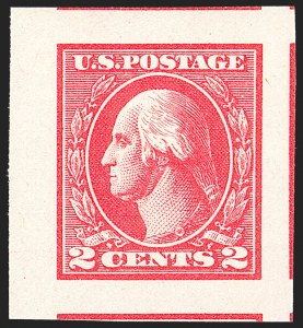 Sale Number 1134, Lot Number 435, 1918-20 Issues (Scott 525-550)2c Carmine, Ty. Va, Imperforate (534), 2c Carmine, Ty. Va, Imperforate (534)