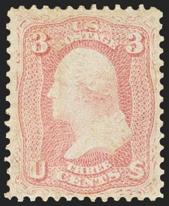 Sale Number 1134, Lot Number 69, 1861-66 Issue (Scott 63-78)3c Pink (64), 3c Pink (64)