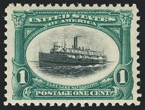 Sale Number 1138, Lot Number 1501, Pan-American Issue (Scott 294-299)1c Pan-American (294), 1c Pan-American (294)