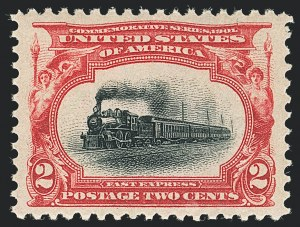 Sale Number 1138, Lot Number 1502, Pan-American Issue (Scott 294-299)2c Pan-American (295), 2c Pan-American (295)