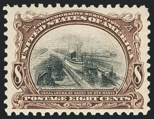 Sale Number 1138, Lot Number 1505, Pan-American Issue (Scott 294-299)8c Pan-American (298), 8c Pan-American (298)