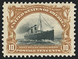 Sale Number 1138, Lot Number 1506, Pan-American Issue (Scott 294-299)10c Pan-American (299), 10c Pan-American (299)