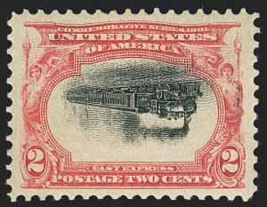 Sale Number 1138, Lot Number 1508, Pan-American Issue Inverts (Scott 294a-296a)2c Pan-American, Center Inverted (295a), 2c Pan-American, Center Inverted (295a)