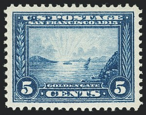 Sale Number 1138, Lot Number 1569, Panama-Pacific Issue (Scott 398-404)5c Panama-Pacific (399), 5c Panama-Pacific (399)