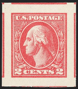 Sale Number 1138, Lot Number 1661, 1912-23 Issue (Scott 519-550)2c Carmine, Ty. V, Imperforate (533), 2c Carmine, Ty. V, Imperforate (533)