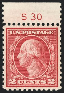 Sale Number 1138, Lot Number 1669, 1912-23 Issue (Scott 519-550)2c Carmine Rose, Ty. III, Rotary (546), 2c Carmine Rose, Ty. III, Rotary (546)