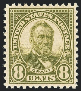 Sale Number 1138, Lot Number 1675, 1922-29 and Later Issues (Scott 556-589)8c Olive Green (560), 8c Olive Green (560)