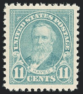 Sale Number 1138, Lot Number 1676, 1922-29 and Later Issues (Scott 556-589)11c Light Blue (563), 11c Light Blue (563)