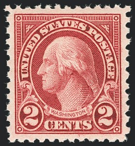 Sale Number 1138, Lot Number 1685, 1922-29 and Later Issues (Scott 556-589)2c Carmine, Rotary (579), 2c Carmine, Rotary (579)
