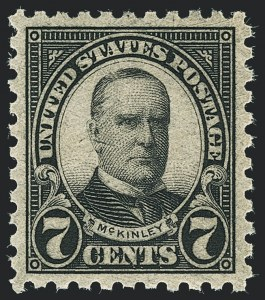 Sale Number 1138, Lot Number 1689, 1922-29 and Later Issues (Scott 556-589)7c Black, Perf 10 (588), 7c Black, Perf 10 (588)