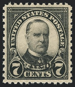 Sale Number 1138, Lot Number 1713, Kansas-Nebraska and Later Issues (Scott 658-701)7c Nebr. Ovpt. (676), 7c Nebr. Ovpt. (676)