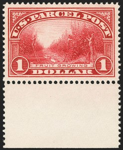 Sale Number 1138, Lot Number 1788, Parcel Post (Scott Q2-Q12, JQ4-QE4)$1.00 Parcel Post (Q12), $1.00 Parcel Post (Q12)