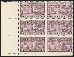 Sale Number 1139, Lot Number 108, Back-of-Book Issues10c Gray Violet, Special Delivery, Horizontal Pair, Imperforate Between (E15c), 10c Gray Violet, Special Delivery, Horizontal Pair, Imperforate Between (E15c)