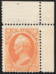 Sale Number 1139, Lot Number 113, Back-of-Book Issues24c Interior, Soft Paper (O103), 24c Interior, Soft Paper (O103)