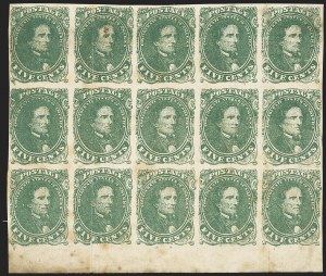 Sale Number 1139, Lot Number 170, Confederate States5c Green, Stone 1 (1), 5c Green, Stone 1 (1)