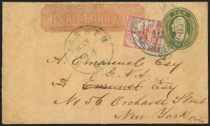 Sale Number 1139, Lot Number 23, Carriers and LocalsWells, Fargo & Co. Pony Express, $2.00 Red (143L1), Wells, Fargo & Co. Pony Express, $2.00 Red (143L1)