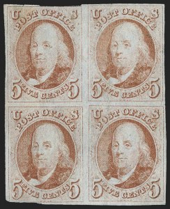Sale Number 1139, Lot Number 29, Postmasters Provisionals, 1847 Issue5c Red Brown (1), 5c Red Brown (1)