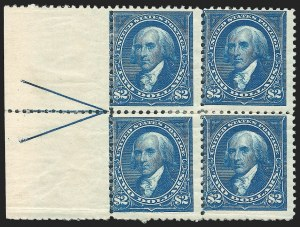 Sale Number 1139, Lot Number 72, 1894-98 Bureau Issues$2.00 Bright Blue (262), $2.00 Bright Blue (262)
