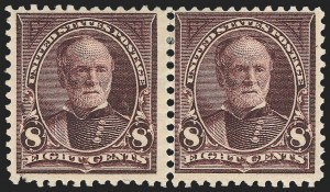 Sale Number 1139, Lot Number 74, 1894-98 Bureau Issues8c Violet Brown, USIR Watermark (272a), 8c Violet Brown, USIR Watermark (272a)