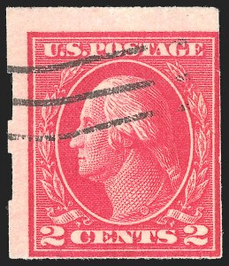 Sale Number 1139, Lot Number 94, Washington-Franklin and Later Issues2c Deep Rose, Ty. Ia, Imperforate, Schermack Ty. III Private Perforation (482A), 2c Deep Rose, Ty. Ia, Imperforate, Schermack Ty. III Private Perforation (482A)