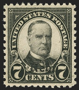 Sale Number 1140, Lot Number 1012, 1925 and Later Issues (Scott 620-734a)7c Nebr. Ovpt. (676), 7c Nebr. Ovpt. (676)