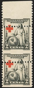 Sale Number 1140, Lot Number 1013, 1925 and Later Issues (Scott 620-734a)2c Red Cross (702), 2c Red Cross (702)