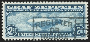 Sale Number 1140, Lot Number 1087, Air Post, cont. (C13-C23a)$2.60 Graf Zeppelin (C15), $2.60 Graf Zeppelin (C15)