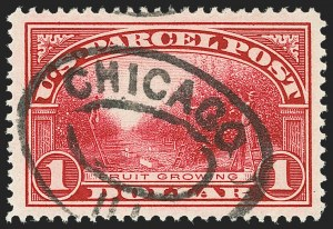Sale Number 1140, Lot Number 1260, Parcel Post$1.00 Parcel Post (Q12), $1.00 Parcel Post (Q12)