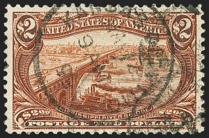 Sale Number 1140, Lot Number 1595, Group Lots by Issue1c-$2.00 Trans-Mississippi, Balance (285-293), 1c-$2.00 Trans-Mississippi, Balance (285-293)