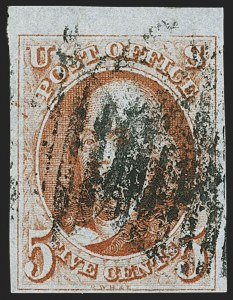 Sale Number 1140, Lot Number 294, 1847 Issue (Scott 1-2)5c Orange Brown (1b), 5c Orange Brown (1b)