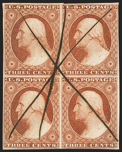 Sale Number 1140, Lot Number 326, 1851-56 Issue (Scott 5-17)3c Orange Brown, Ty. II (10A), 3c Orange Brown, Ty. II (10A)