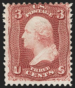 Sale Number 1140, Lot Number 419, 1861-66 Issue (Scott 62B-78)3c Lake (66), 3c Lake (66)